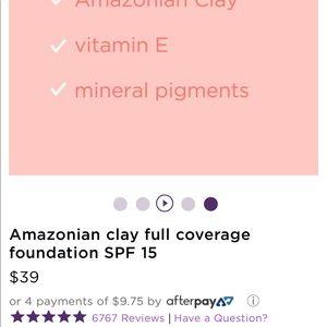 tarte Makeup - Tarte Amazonian Clay Full Coverage Foundation 35S